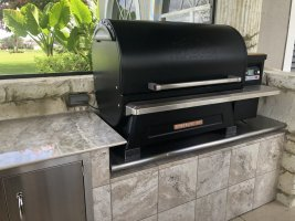 Outdoor Kitchen Traeger Owners Forum Traeger Grill